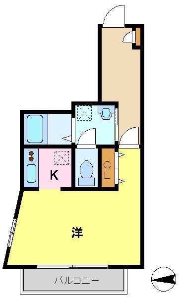 間取り/地積図洋室9帖