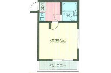 日吉 徒歩19分2階1K 賃貸アパート