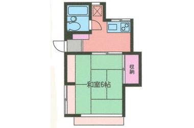 綱島 徒歩12分1階1K 賃貸アパート