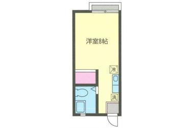 綱島 徒歩10分1階1R 賃貸アパート