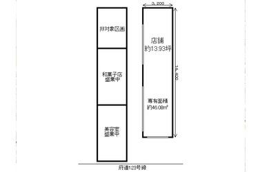 中書島 バス18分/神川出張所前 停歩1分 1階 13.93坪