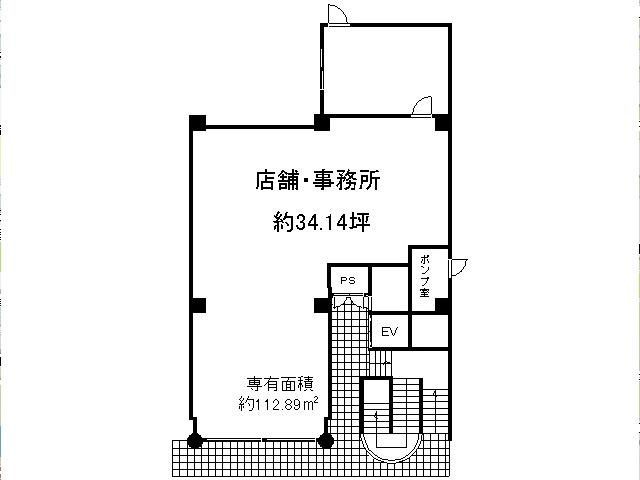 松ヶ崎 徒歩2分 1階 34.14坪
