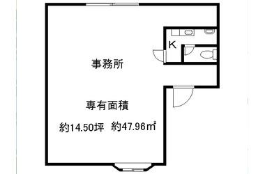 桃山南口 徒歩5分 3階 14.50坪