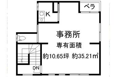 中書島 徒歩9分 3階 10.65坪