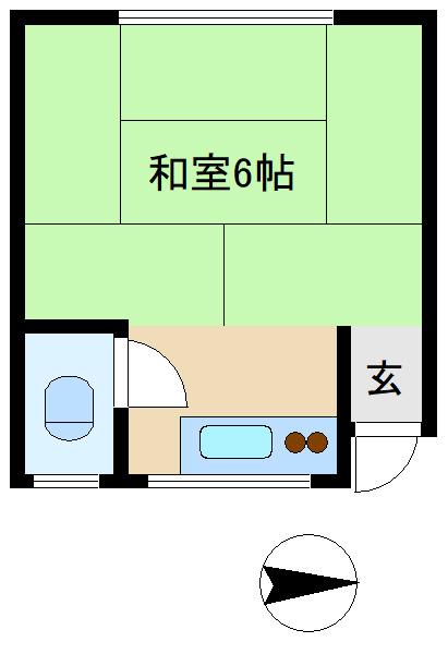 阿佐ヶ谷 徒歩12分 1階 1K 賃貸アパート