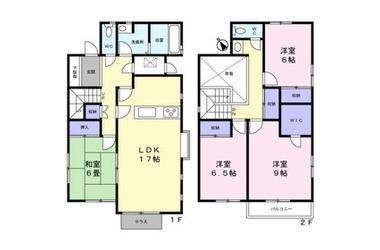 徳江賃貸住宅 1-2階 4LDK 賃貸一戸建て