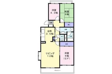 アベニュー 2階 3LDK 賃貸マンション