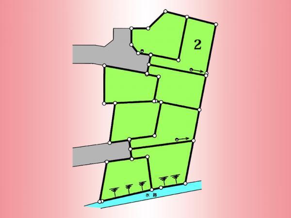 間取り/地積図区画図