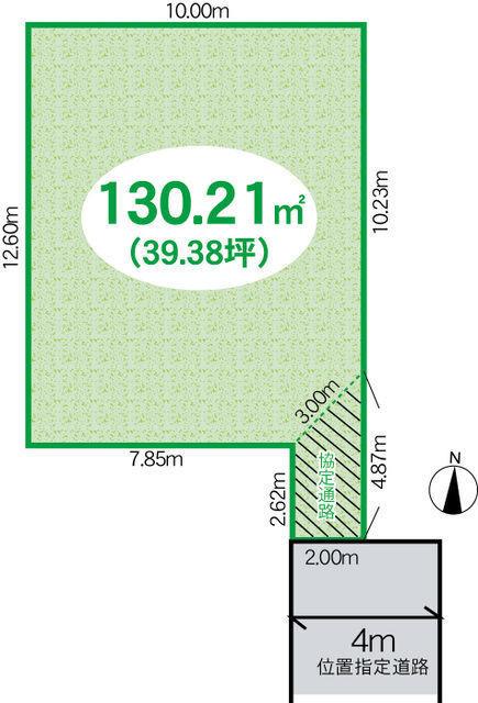 間取り/地積図お好きなプランで注文住宅の建築が可能です! ポラスの注文住宅ご提案します♪