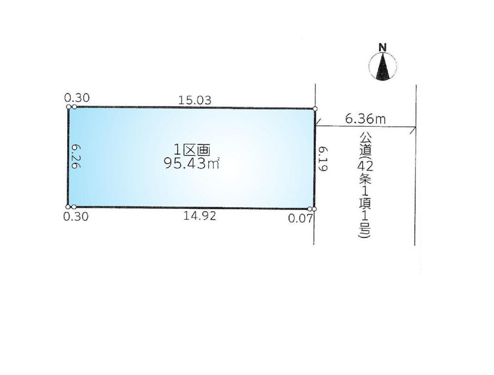 間取り/地積図全体区画図-「川崎」駅徒歩10分