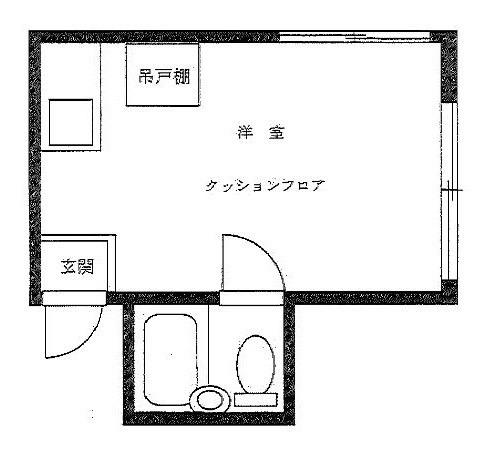 中野 徒歩15分 2階 1R 賃貸アパート