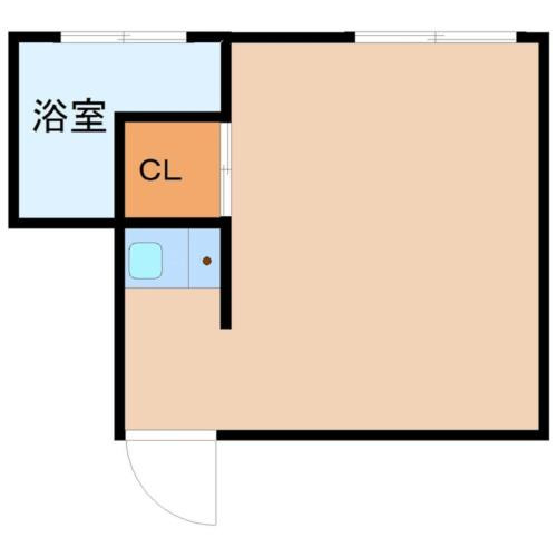 幡ヶ谷 徒歩6分 2階 1R 賃貸アパート