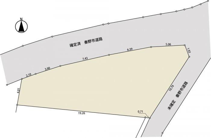 間取り/地積図現況測量図