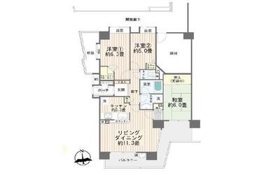 フォルスコート大和深見台 / 神奈川県大和市深見台1丁目