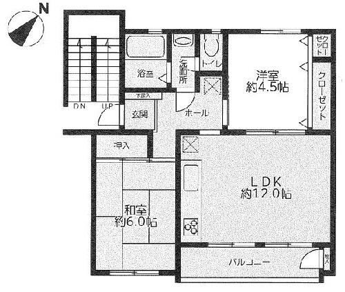 たまプラーザ団地4街区6号棟/神奈川県横浜市青葉区美しが丘1丁目