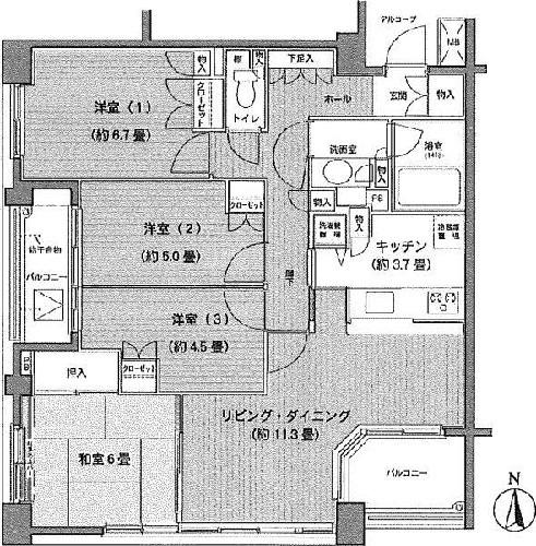 シティウインズイルパティオ/神奈川県横浜市神奈川区新子安1丁目