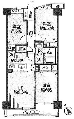 モア・クレストアクゼス新横浜/神奈川県横浜市港北区新横浜1丁目