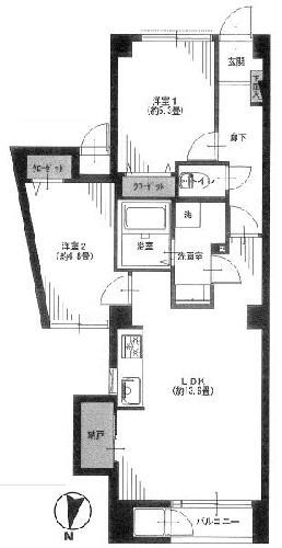 谷津坂ハイツ/神奈川県横浜市金沢区能見台通
