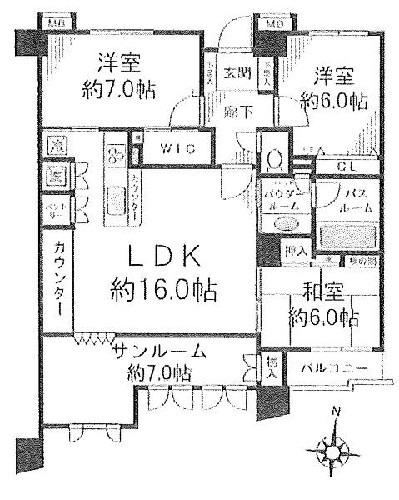 グランシティ戸塚3/神奈川県横浜市栄区長沼町