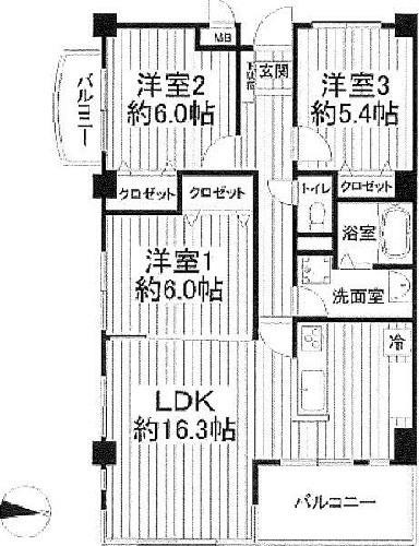 エクセル弘明寺B/神奈川県横浜市南区永田山王台