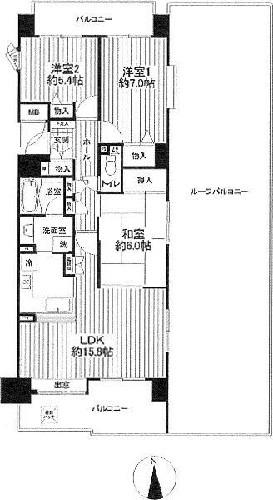 シティ能見台いこいの街C棟/神奈川県横浜市金沢区能見台4丁目