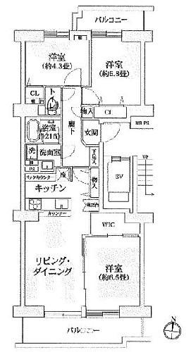 コープ野村バードウッド鶴見3番館/神奈川県横浜市鶴見区市場上町