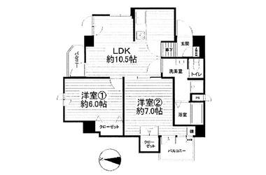 ハイツ中山 / 神奈川県横浜市緑区中山4丁目