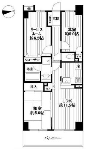 クレストフォルム向島/東京都墨田区堤通1丁目