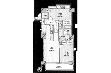 コープ野村大島2号棟/東京都江東区北砂5丁目