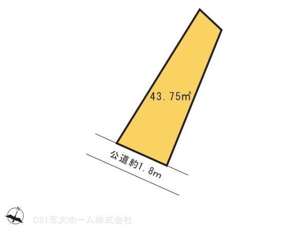 間取り/地積図間取り:図面と異なる場合は現況を優先