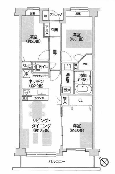 コスモ大師公園南/神奈川県川崎市川崎区四谷上町