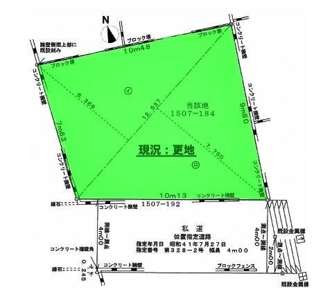 間取り/地積図間取り:「柳瀬川」駅徒歩15分