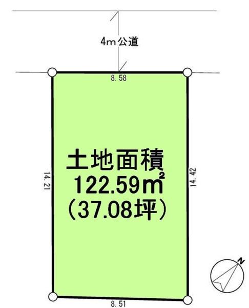 間取り/地積図間取り:敷地37坪