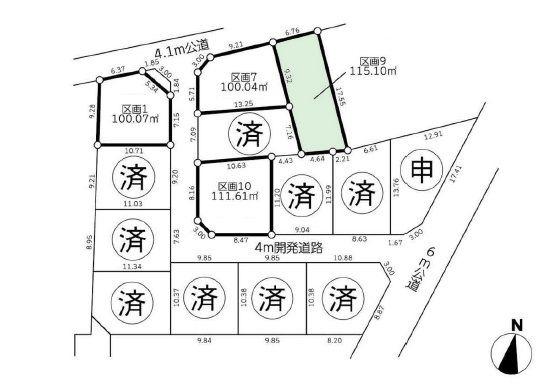 さいたま市浦和区駒場1丁目 条件なし売地/埼玉県さいたま市浦和区駒場1丁目