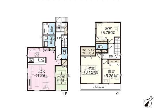 新築分譲住宅 さいたま市緑区松木4期全5棟/埼玉県さいたま市緑区松木1丁目