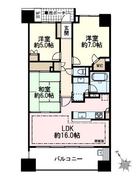 ライオンズガーデン成増ヴィスタヒル/埼玉県和光市白子2丁目