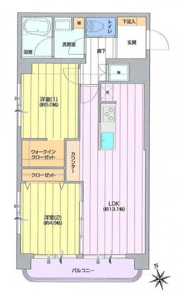 エントピア第二荻窪/東京都杉並区上荻2丁目
