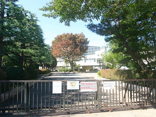 現地周辺大野北中学校