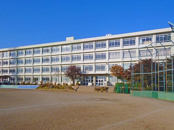 現地周辺町田第二中学校