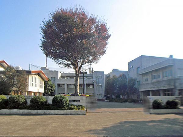現地周辺東林中学校