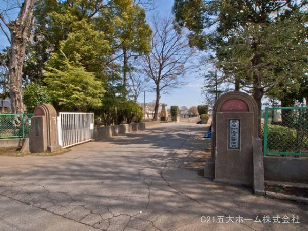 現地周辺野田市立第一中学校 520m