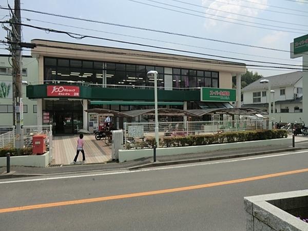 現地周辺スーパー生鮮館TAIGA岡津店 700m