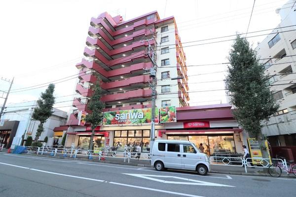 現地周辺sanwa狛江店 1586m
