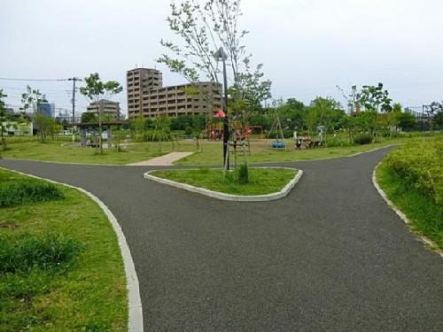 現地周辺宇喜田公園