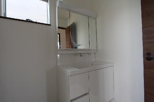 居室参考プラン当社自由設計施工例:洗面台