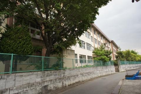 現地周辺その他現地:椚田中学校