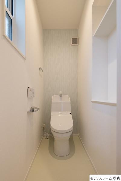その他モデルハウス写真:トイレ2階(モデルハウス写真)