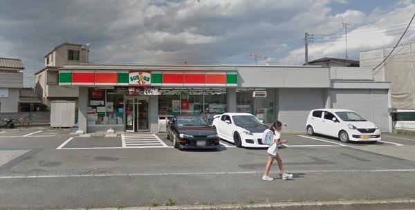 現地周辺サンクス日野三沢店 1405m