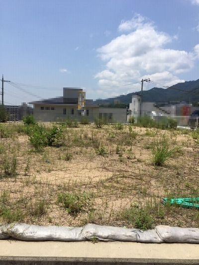 その他前面道路含む現地写真:桜ヶ丘 土地(61号地) 現地外観