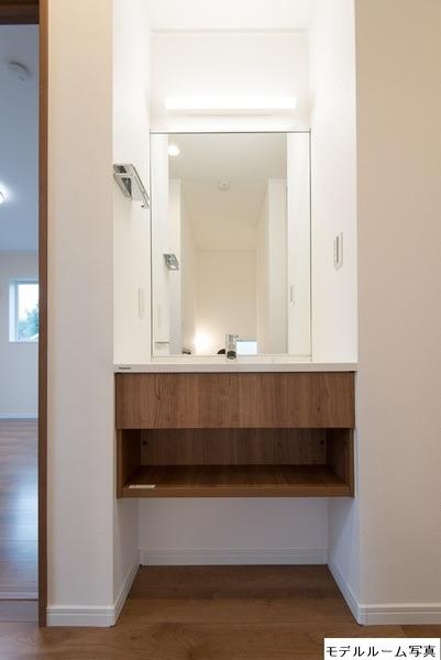 その他モデルハウス写真:2階洗面台(モデルハウス写真)